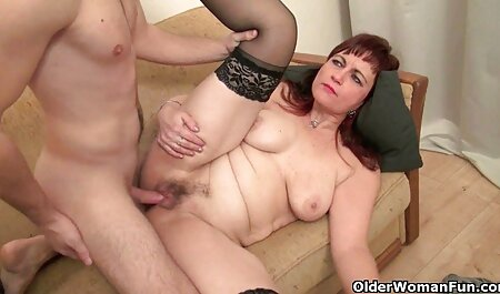 Red-haired Jasmine swallows big cock jav hd down her throat